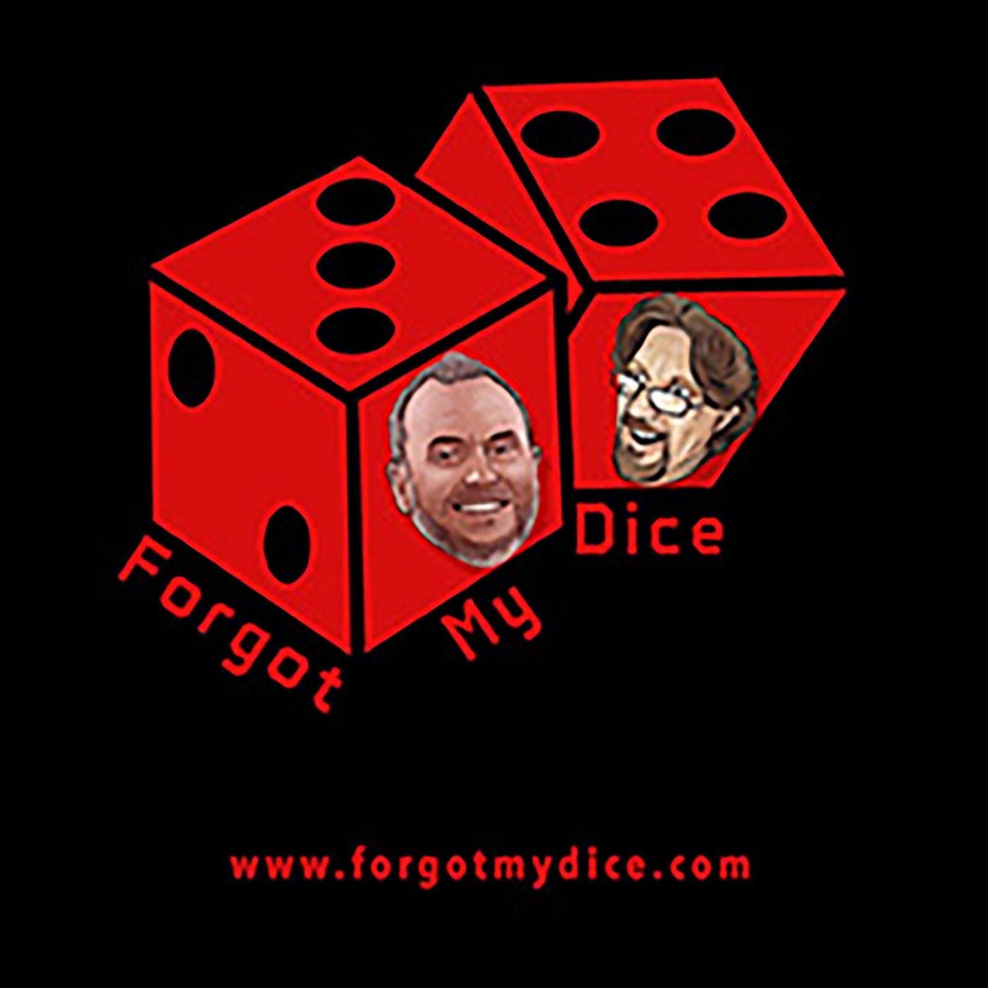 Forgot My Dice Podcast logo